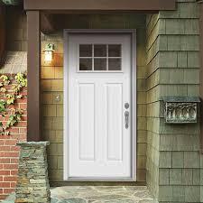 1 4 Light Door Jeld Wen 36 In X 80 In Primed Left Hand Inswing 6 Lite