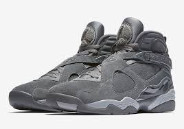jordan 8 cool grey. air jordan 8 cool grey