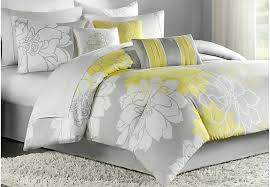 yellow queen bedding. Perfect Yellow Image Of Gray And Yellow Queen Bedding Intended D