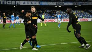 Napoli-Inter 1-3: Lukaku e Lautaro lasciano i nerazzurri in ...