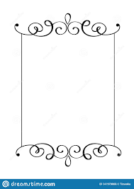 Free Card Borders Designs Vintage Vector Decorative Hand Drawn Frame And Borders