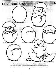 Poussin 58 Animaux Coloriages Imprimer