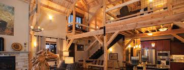 post and beam home interior example2
