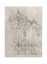 Gate Design Online Shop Oraonline Iron Gate Design Ii Poster Multicolour Online