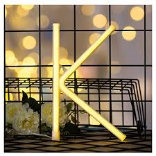 delicore neon letter sign night lights led alphabet neon art lights wall decor light up words for wedding birthday party home bar decoration k