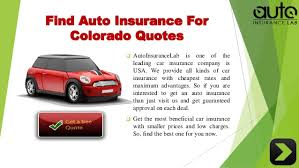 Get A Auto Insurance Quote Fascinating Acquire The Best Auto Insurance Colorado Quotes With Low Rates