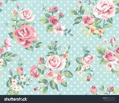 Flower Pattern Wallpaper Classy Wallpaper Seamless Vintage Pink Flower Pattern Stock Vector Royalty