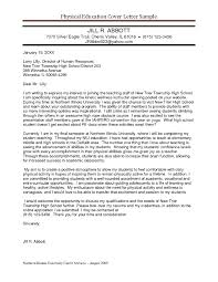 Best Teacher Cover Letter Examples Livecareer With 21 Breathtaking