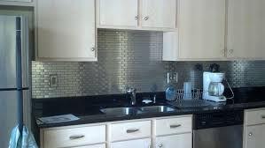 stainless steel backsplash tiles self adhesive 5 stainless steel kitchen  makeovers on the cheap do it