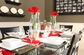 christmas centerpieces for dining room tables. 21. Source. Let The Snowflakes Rule Dinner Table This Christmas Centerpieces For Dining Room Tables O