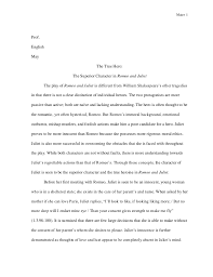 conclusion of an essay of romeo and juliet romeo and juliet essay essayjudge