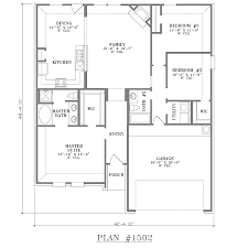 Awesome House Floor Plans 3 Bedroom 2 Bath With Garage Simple 3 Bedroom 2 Bath  Floor Plans