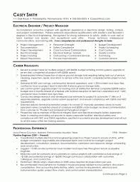 Electrical Engineering Sample Resumes Electrical Engineering Experience Resume Format Resume