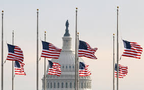 Image result for half hoisted flag indicates: a tyranny/mourning