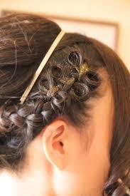 結婚式 髪型 エスポワールリボン 編み込み フィッシュボーン さくら市