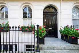 black front doorDecorate Your House With the Color Black for Good Feng Shui