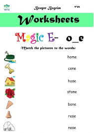 The lanternfish phonics resource section has greatly expanded. Magic E O E Worksheet