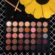 best morphe palette for brown eyes. ini adalah ke 7 warna dari baris 5, untuk 5 warnanya lebih dark brown dan ada campuran black-nya (matte and shimmer). best morphe palette for eyes