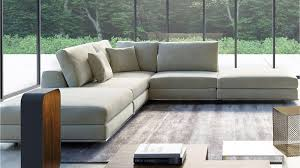 modern persis armless corner sectional sofa moonbeam zuri in armless sectional sofas photo
