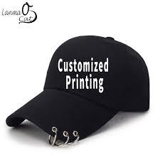 <b>Lanmaocat</b> Ring Cap For Women Men <b>Custom Print</b> Ring Baseball ...