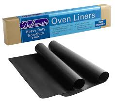Heavy Duty Microwaves Amazoncom Oven Liner Heavy Duty By Bellemain 2 Pack For