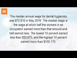 What Is The Starting Salary For A Dental Hygienist Youtube