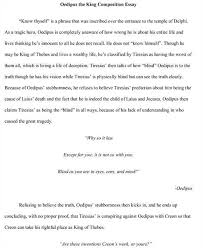 oedipus argument essay essay oedipus the king will vs fate