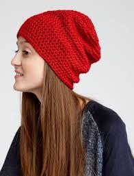 Free Slouchy Beanie Crochet Pattern
