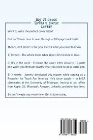 amazon cover letter get it done write a cover letter jeremy schifeling