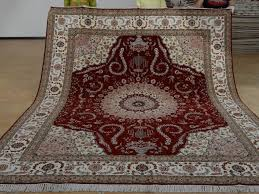 8 x 10 hand knotted brand new wool and silk sino persian tabriz oriental area rug 12980592 goodluck rugs