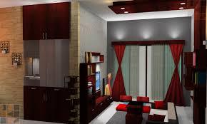 Pooja Room Designs In Living Room Residential Interior Design For Mrsbrindha Srinivasan At
