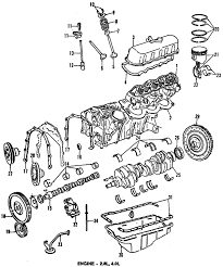 parts com® ford engine short block 2 8l partnumber e3tz6009r 1984 ford bronco ii eddie bauer v6 2 8 liter gas engine