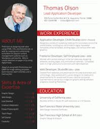 Executive In Red  The Professional Resume