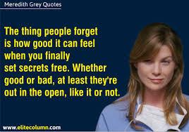 Meredith Grey Quote