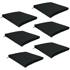 patio chair seat cushions outdoor waterproof chair pads cushions only garden outdoor chair seat pads