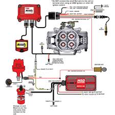 msd ignition wiring diagram hei solidfonts msd 6al wiring diagram chevy electronic circuit