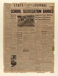 th anniversary brown v board of education legal rights of this day in news history the u supreme court ruled in brown v board of education that racially segregated public schools were inherently unequal