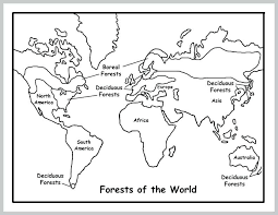 Map Coloring Page Map Coloring Page World Map Coloring Page With