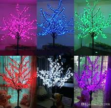 led tree lamp best led waterproof outdoor landscape garden peach tree lamp simulation meters lights led led tree lamp