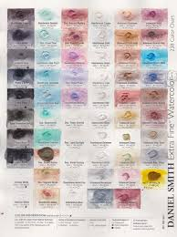 Daniel Smith Watercolor Dot Chart Jane Blundell Artist Daniel Smith Try It Dot Cards For