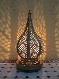Marokkaanse Vloerlamp Marokkaanse Lamp Permanent Koper Lamp Etsy