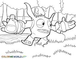 Skylanders Coloring Pages Pop Fizz Color Bros