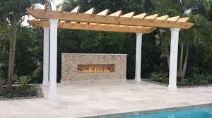 outdoor gas an outdoor gas fireplace