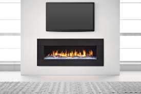 heat glo primo 48 gas fireplace crystal glass with the dunes modern white logs