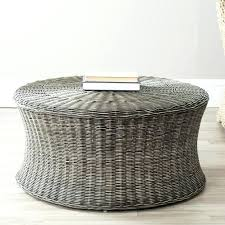 round rattan coffee table design of rattan round coffee table with stylish round wicker coffee table