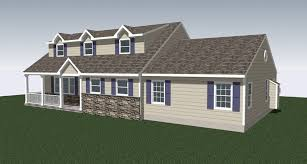 master suite addition exterior after