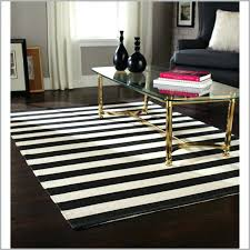 black and white striped rug 8x10 5 gallery area rugs for aspiration