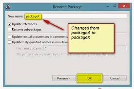 Selenium-By-Arun (QAFox.com): 215. Renaming the Packages in Hiearchy