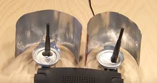 appaly this is how you can boost your wifi signal using a beer can i m so glad i learned this