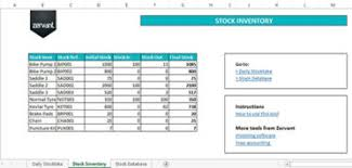 ms excel inventory template free inventory and stock management tool in excel zervant blog